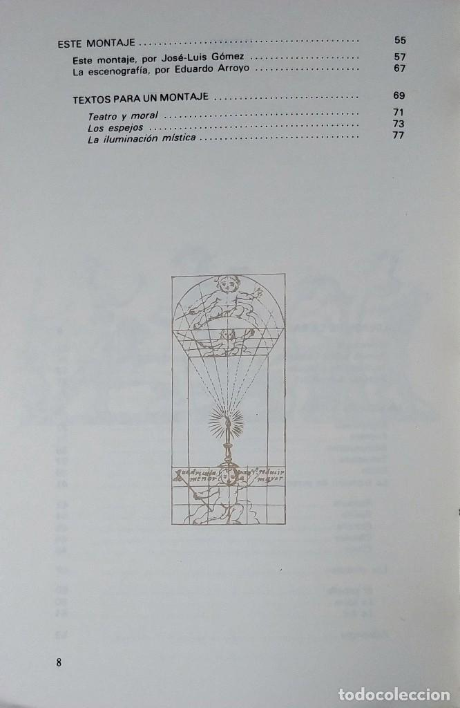 Libros de segunda mano: LA VIDA ES SUEÑO. COMEDIA FAMOSA / DE D. PEDRO CALDERÓN DE LA BARCA. MADRID : TEATRO ESPAÑOL, 1981. - Foto 4 - 126021547