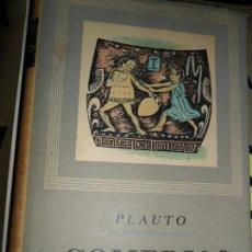 Libros de segunda mano: COMEDIAS, PLAUTO, ED. IBERIA. Lote 126983335
