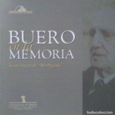 Libros de segunda mano: ANTONIO BUERO VALLEJO: BUERO EN LA MEMORIA. TEXTO ÍNTEGRO DE MADRUGADA. Lote 128163247