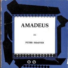 Libros de segunda mano: AMADEUS - PETER SHAFFER - MK EDICIONES Y PUBLICACIONES - ESCENA. Lote 128466799