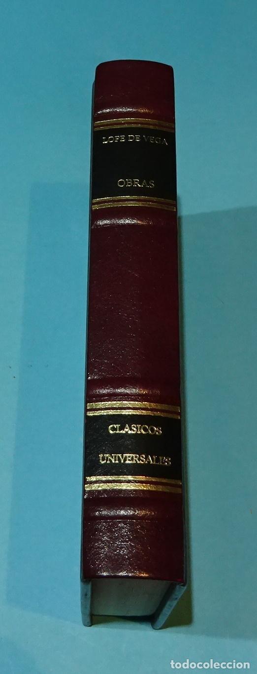 Libros de segunda mano: LOPE DE VEGA. OBRAS - Foto 2 - 128588343