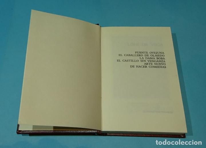 Libros de segunda mano: LOPE DE VEGA. OBRAS - Foto 4 - 128588343
