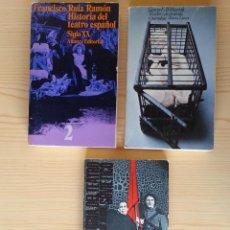 Libros de segunda mano - LOTE 3 LIBROS TEATRO (ALIANZA): HISTORIA TEATRO ESPAÑOL S. XX, TEATRO DE PROTESTA, TEATRO SOVIÉTICO - 128671827