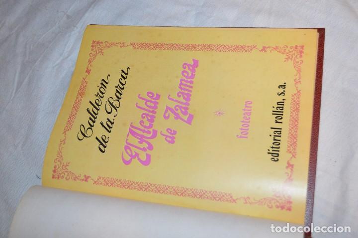 Libros de segunda mano: VINTAGE - CALDERÓN DE LA BARCA, EL ALCALDE DE ZALAMEA - FOTOTEATRO - ED. ROLLÁN S.A. - ENVÍO 24H - Foto 9 - 128927643