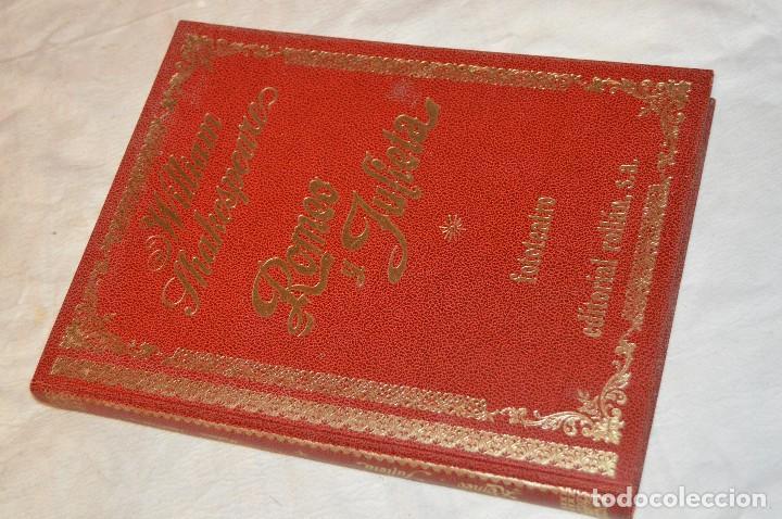 Libros de segunda mano: VINTAGE - WILLIAM SHAKESPEARE, ROMEO Y JULIETA - FOTOTEATRO - ED. ROLLÁN S.A. - ENVÍO 24H - Foto 3 - 128927739