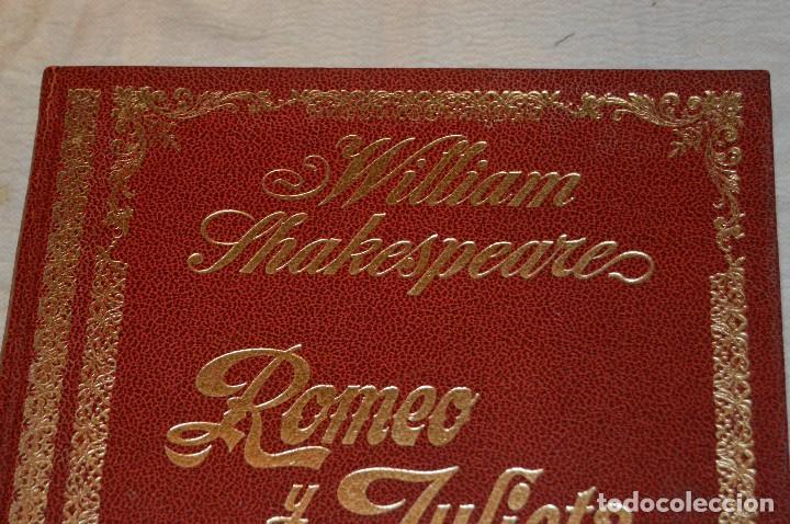 Libros de segunda mano: VINTAGE - WILLIAM SHAKESPEARE, ROMEO Y JULIETA - FOTOTEATRO - ED. ROLLÁN S.A. - ENVÍO 24H - Foto 4 - 128927739