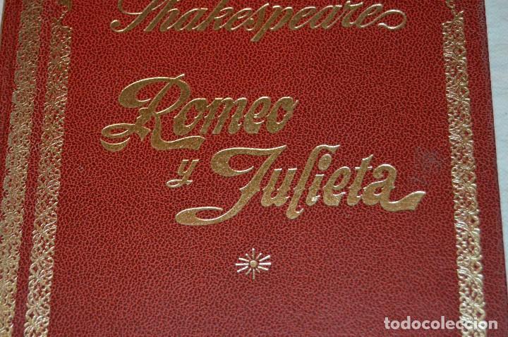 Libros de segunda mano: VINTAGE - WILLIAM SHAKESPEARE, ROMEO Y JULIETA - FOTOTEATRO - ED. ROLLÁN S.A. - ENVÍO 24H - Foto 5 - 128927739