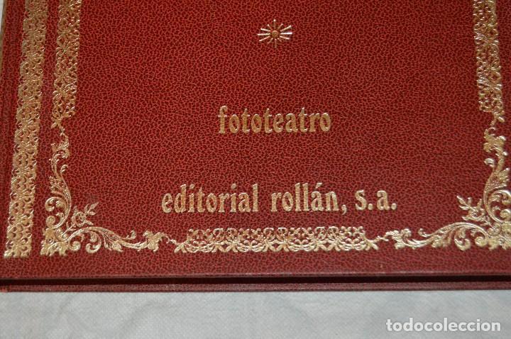 Libros de segunda mano: VINTAGE - WILLIAM SHAKESPEARE, ROMEO Y JULIETA - FOTOTEATRO - ED. ROLLÁN S.A. - ENVÍO 24H - Foto 6 - 128927739