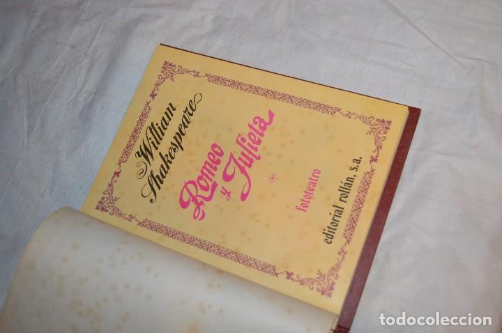 Libros de segunda mano: VINTAGE - WILLIAM SHAKESPEARE, ROMEO Y JULIETA - FOTOTEATRO - ED. ROLLÁN S.A. - ENVÍO 24H - Foto 10 - 128927739