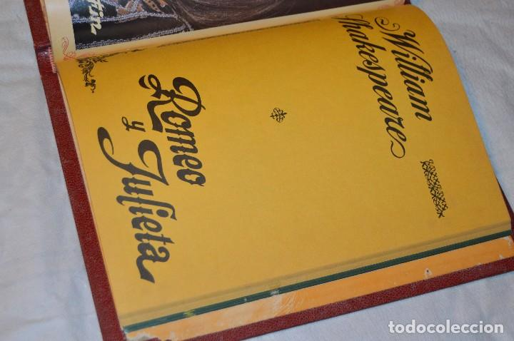 Libros de segunda mano: VINTAGE - WILLIAM SHAKESPEARE, ROMEO Y JULIETA - FOTOTEATRO - ED. ROLLÁN S.A. - ENVÍO 24H - Foto 13 - 128927739