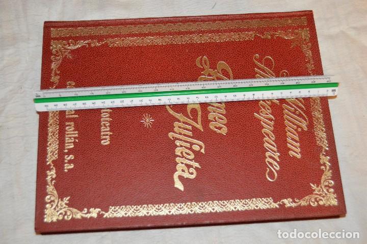 Libros de segunda mano: VINTAGE - WILLIAM SHAKESPEARE, ROMEO Y JULIETA - FOTOTEATRO - ED. ROLLÁN S.A. - ENVÍO 24H - Foto 18 - 128927739