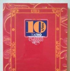Libros de segunda mano: DIEZ AÑOS DE LA COMPAÑÍA NACIONAL DE TEATRO CLÁSICO 1986-1996. Lote 129429331