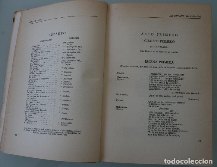 Libros de segunda mano: LIBRO TEATRO: EL GENERO CHICO POR ANTONIO VALENCIA - ANTOLOGÍA DE TEXTOS COMPLETOS DE 15 OBRAS - Foto 4 - 130103471