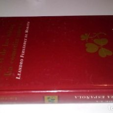 Libros de segunda mano: EL SI DE LAS NIÑAS-LA COMEDIA NUEVA/MORANTIN/RUEDA/CM65. Lote 130959764