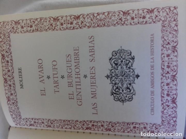 Libros de segunda mano: el avaro-tartufo-buruges gentilhombre-las mujeres sabias/moliere/circulo amigos historia/CO10 - Foto 2 - 130960796