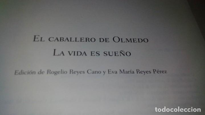 Libros de segunda mano: el caballero de olmedo-la vida es sueño-calderon de la barca-gu4-/ - Foto 3 - 130961304