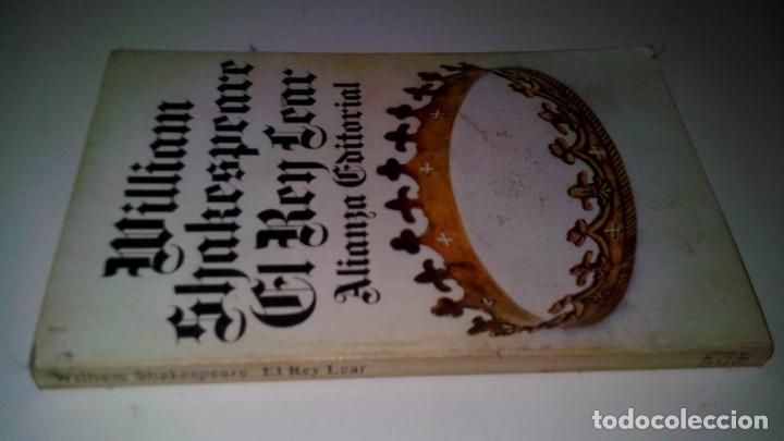 EL REY LEAR-SHAKESPEARE-ALIANZA EDITORIAL-GU8/(Libros de Segunda Mano (posteriores a 1936) - Literatura - Teatro)