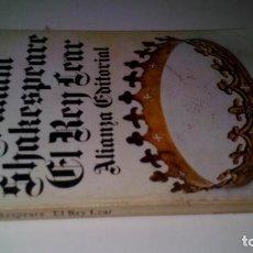 Libros de segunda mano: EL REY LEAR-SHAKESPEARE-ALIANZA EDITORIAL-GU8/. Lote 130961476