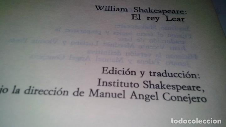 Libros de segunda mano: el rey lear-shakespeare-alianza editorial-gu8/ - Foto 4 - 130961476