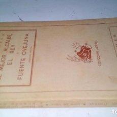 Libros de segunda mano: ELMEJOR ALCALDE EL REY-FUENTEOVEJUNA-LOPE DE VEGA-AUSTRAL-YO1/. Lote 130962668