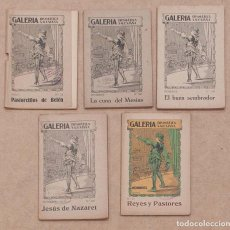 Libros de segunda mano: LOTE 5 CUADERNILLOS GALERIA DRAMATICA SALESIANA. AÑOS 40.. Lote 132002378