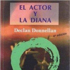 Libros de segunda mano: EL ACTOR Y LA DIANA. Lote 132070946