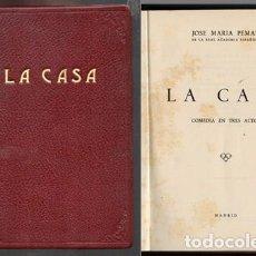 Libros de segunda mano: LA CASA. (COMEDIA EN TRES ACTOS) - PEMÁN,JOSÉ MARÍA - A-PEMAN-032. Lote 132331866