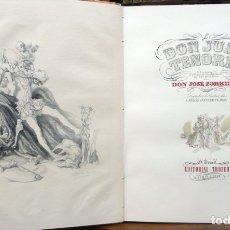 Libros de segunda mano: DON JUAN TENORIO. DRAMA RELIGIOSO-FANTÁSTICO EN DOS PARTES. - ZORRILLA, JOSÉ. - MADRID, 1946.. Lote 123262395