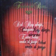 Libros de segunda mano: DEL REY ABAJO, NINGUNO / ENTRE BOBOS ANDA EL JUEGO. Lote 134015445