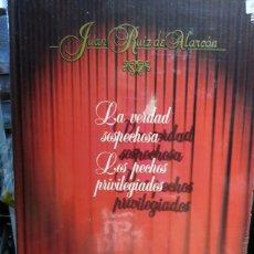 Libros de segunda mano: LA VERDAD SOSPECHOSA / LOS PECHOS PRIVILEGIADOS. Lote 134015789