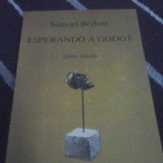 Libros de segunda mano: SAMUEL BECKETT, ESPERANDO A GODOT . Lote 134022378