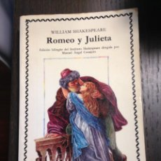 Libros de segunda mano: ROMEO Y JULIETA WILLIAM SHAKESPEARE CATEDRA Nº108. Lote 134076066