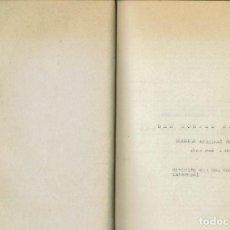 Libros de segunda mano: SES MONGES BLAVES, PER JOAN MAS I BAUZÀ. AÑO ¿1957? (13.5). Lote 134264450