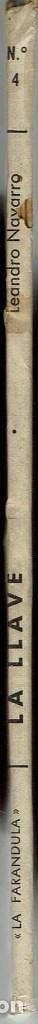 Libros de segunda mano: LA LLAVE, POR LEANDRO NAVARRO. AÑO 1944. (13.5) - Foto 3 - 134834498