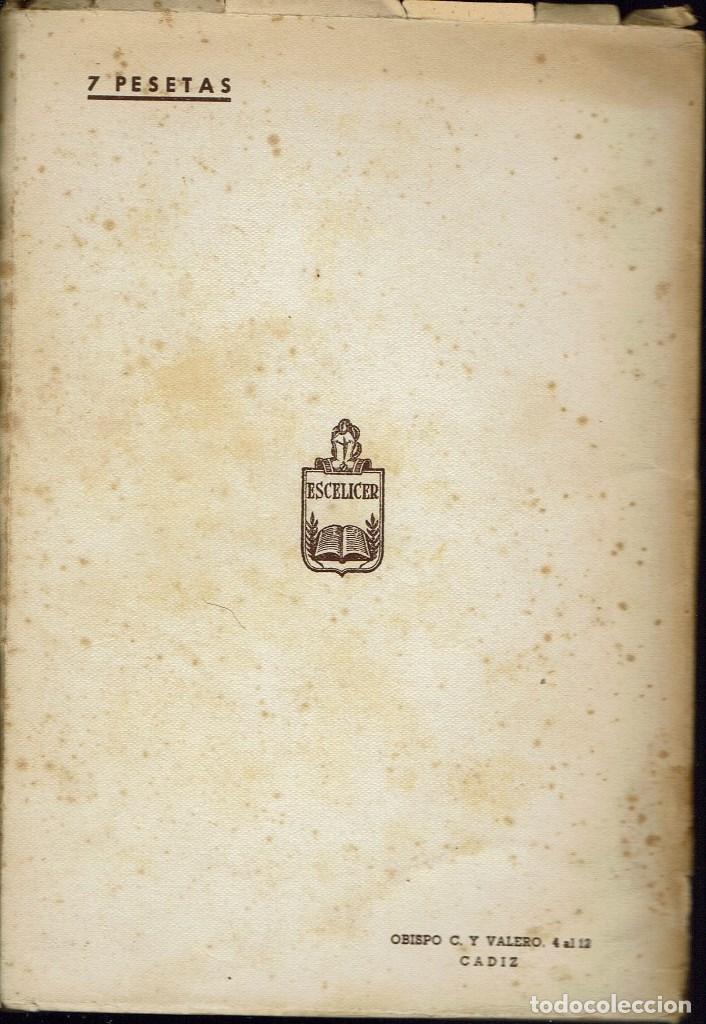Libros de segunda mano: YO NO HE VENIDO A TRAER LA PAZ / JUAN SIN VERSOS, POR JOSÉ MARÍA PEMÁN Y PEMARTÍN. AÑO 1944. (15.4) - Foto 2 - 135077658
