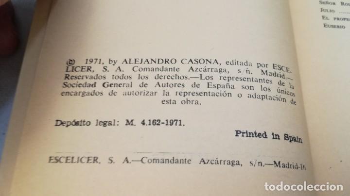 Libros de segunda mano: la tercera palabra-alejandro casanova-468/ colección teatro-escelicer - Foto 7 - 135835334