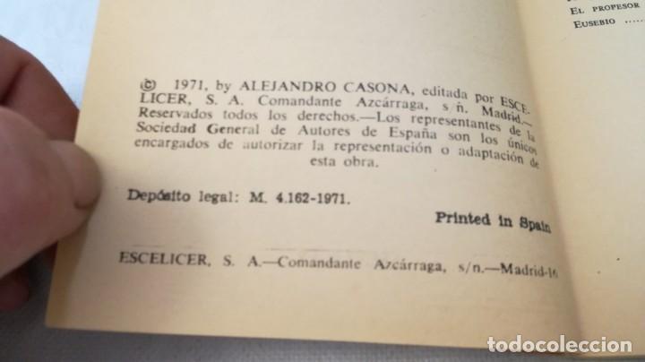 Libros de segunda mano: la tercera palabra-alejandro casanova-468/ colección teatro-escelicer - Foto 6 - 135835470