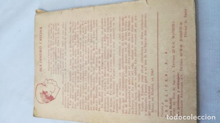 Libros de segunda mano: la tercera palabra-alejandro casanova-468/ colección teatro-escelicer - Foto 3 - 135835502