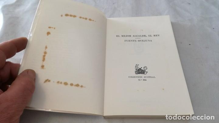 Libros de segunda mano: el mejor alcalde el rey-fuente ovejuna-lope de vega/ austral - Foto 4 - 135835598
