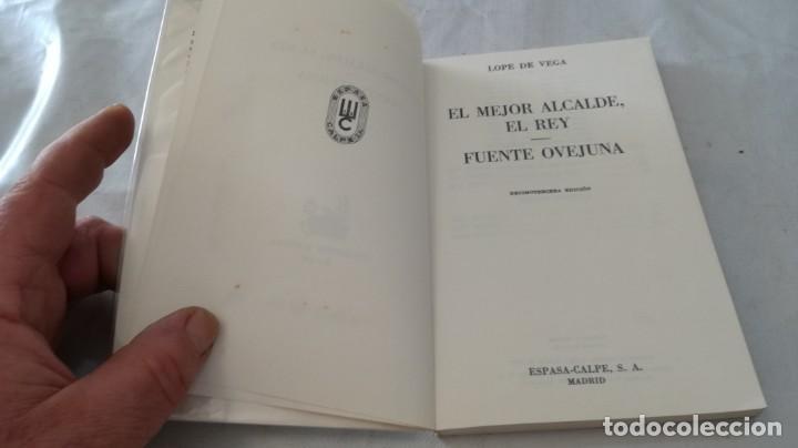 Libros de segunda mano: el mejor alcalde el rey-fuente ovejuna-lope de vega/ austral - Foto 6 - 135835598