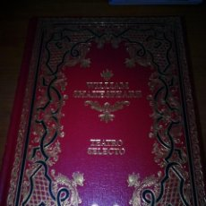 Libros de segunda mano: TEATRO SELECTO. WILLIAM SHAKESPEARE. EST7B1. Lote 136235358