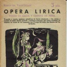 Libros de segunda mano: VOCES DE GESTA Y CUENTO DE ABRIL, POR RAMÓN DEL VALLE-INCLÁN. AÑO 1958. (3.6). Lote 143249873