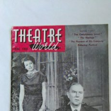 Libros de segunda mano: THEATRE WORLD AUG 1959. Lote 137258854