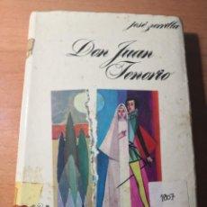 Libros de segunda mano: JOSÉ ZORRILLA DON JUAN TENORIO. Lote 138684826
