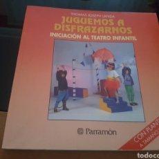 Libros de segunda mano: JUGUEMOS A DISFRAZARNOS CON PLANTILLAS A TAMAÑO NATURAL. Lote 139065228