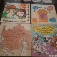 Libros de segunda mano: LOTE DE 4 LIBRITOS DE TEATRO - LOS TURRONES DE ALICANTE, LAS ACEITUNAS , AÑO DE NIEVES AÑO DE BIENES. Lote 139066338