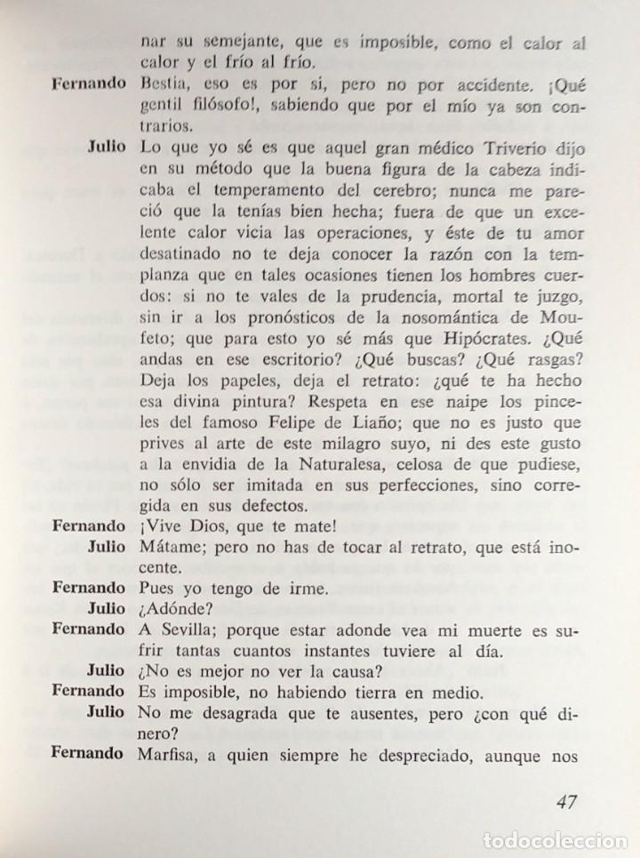 Libros de segunda mano: LA DOROTEA . LA GATOMAQUIA / LOPE DE VEGA. 1ª ED. BARCELONA : EDICIONES ZEUS, 1969. - Foto 3 - 139675674