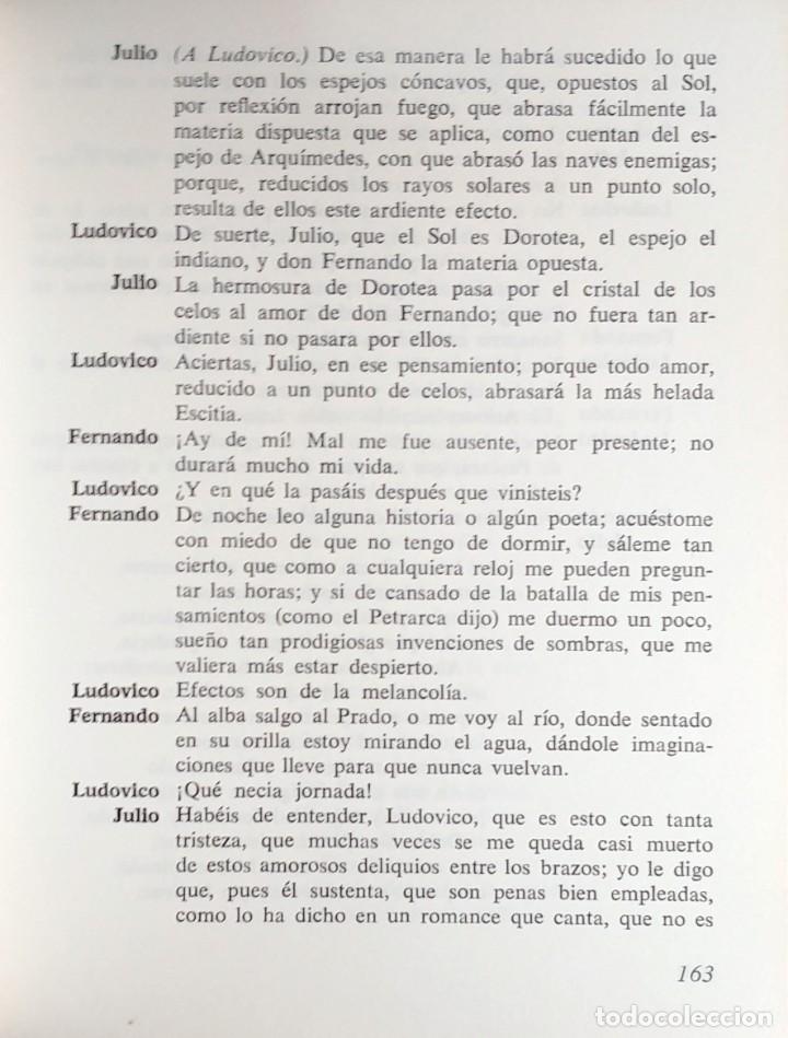 Libros de segunda mano: LA DOROTEA . LA GATOMAQUIA / LOPE DE VEGA. 1ª ED. BARCELONA : EDICIONES ZEUS, 1969. - Foto 4 - 139675674