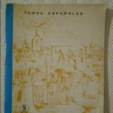 Libros de segunda mano: INICIACION AL TEATRO. TEMAS ESPAÑOLES. Nº 489. PUBLICACIONES ESPAÑOLAS. MADRID 1968. POR PEDRO PEREZ. Lote 139890522