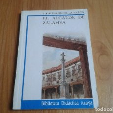 Libros de segunda mano: EL ALCALDE DE ZALAMEA -- CALDERÓN DE LA BARCA --BIBLIOTECA DIDÁCTICA ANAYA Nº 22 -- 1987. Lote 139948530